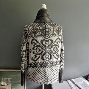 Express Open Front Dolman Sleeve Sweater
